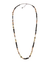 Nakamol Long Freshwater Pearl And Mixed Bead Necklace Multi