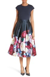 Ted Baker Women's London Valkia Blushing Bouquet Fit And Flare Dress