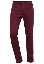 Kiomi Slim Fit Jeans Bordeaux