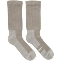 Rick Owens Grey Hiking Socks