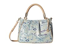 Brahmin Ruby Sky Handbags Blue