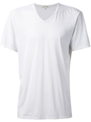 Cotton Citizen Classic V Neck T Shirt White