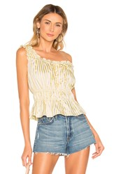 Lovers Friends Opal Top Yellow