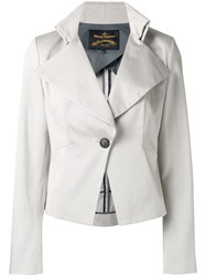 Vivienne Westwood Anglomania Talleted Jacket Nude Neutrals