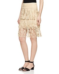 Romeo And Juliet Couture Tiered Fringe Skirt Compare At 208 Tan