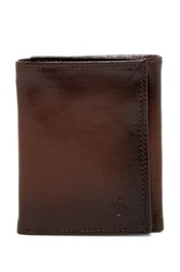Original Penguin Michigan Slim Tri Fold Wallet Brown