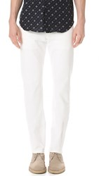 Naked And Famous Weird Guy Lightweight Stretch Selvedge Jeans White