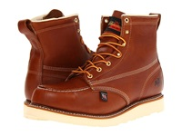 Thorogood 6 Safety Moc Toe Tobacco Men's Work Boots Brown