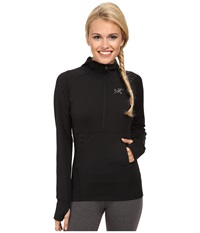 Arc'teryx Zoa Hoodie Black Women's Sweatshirt