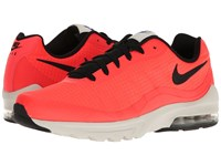 Nike Air Max Invigor Se Bright Crimson Light Bone Deep Night Black Men's Shoes Orange