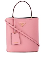 Prada Panier Top Handle Bag Pink