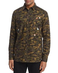 Sovereign Code Nintendo Camouflage Regular Fit Button Down Shirt 100 Exclusive