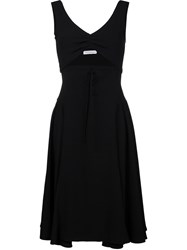 J.W.Anderson J.W. Anderson Sleeveless Dress With Cutout And Lace Up Front Black