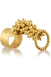 Paula Mendoza Jarama Gold Plated Ring