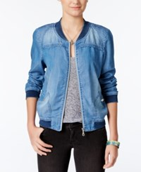 American Rag Denim Bomber Jacket Only At Macy's
