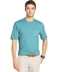 Izod Solid Crew Neck T Shirt Dragonfly