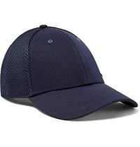 Rlx Ralph Lauren Logo Detailed Flex Fit Golf Cap Navy