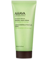 Ahava Mineral Hand Cream Prickly Pear And Moringa