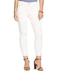 Lauren Ralph Lauren Skinny Jeans In Chalk Wash