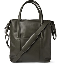 Maison Martin Margiela Leather Tote Bag Green