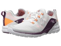 Reebok Zpump Fusion 2.0 Silver Metallic White Opal Electric Peach Celestial Orchid Red Women's Running Shoes