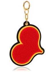 Chaos Red Heart Chenille Keychain