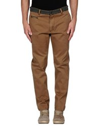 Individual Denim Pants Camel