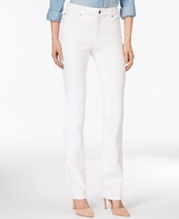 Charter Club Lexington Straight Leg Jeans Only At Macy's White