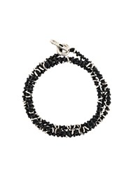 M Cohen M. Beaded Bracelet Black