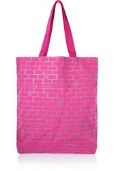 Marc By Marc Jacobs Brick Bunnies Printed Shell Tote Pink