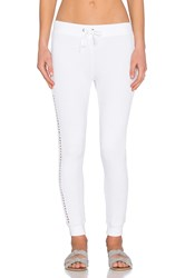 Pam And Gela New Betsee Sweatpant White