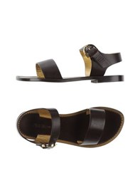 Avril Gau Footwear Sandals Women Dark Brown