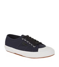Sandro Vintage Denim Sneakers Male Blue