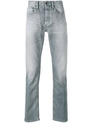 Denham Jeans Razor Men Cotton Spandex Elastane 30 32 Blue