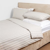 Orla Kiely Linear Stem Duvet Cover Grey Super King