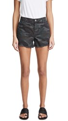 Sundry Camo Shorts With Trim Charcoal