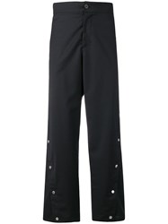 Odeur Button Front Trousers Black