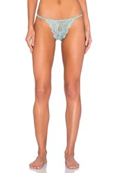 Only Hearts Club So Fine Lace G String Mint