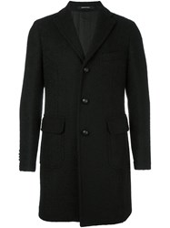 Tagliatore Single Breasted Coat Black