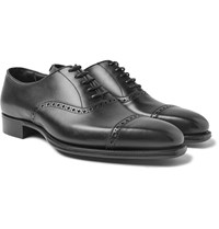 Kingsman George Cleverley Eggsy's Leather Oxford Brogues Black