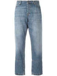 Marni Cropped Jeans Blue
