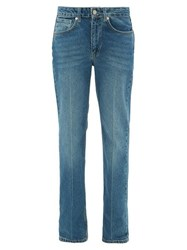 Raey Push Straight Leg Jeans Dark Blue