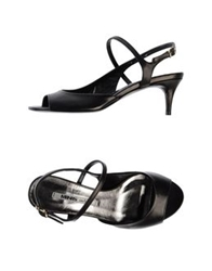 Manas Lea Foscati Sandals Black