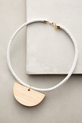 Sophie Monet Siren Song Necklace White
