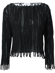 Aviu Applique Detail Jumper Black