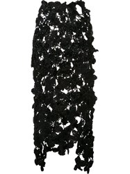 Simone Rocha Knitted Skirt Black
