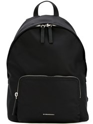 Burberry House Check Strap Backpack Black