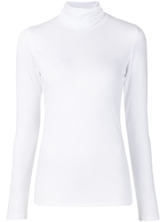 Majestic Filatures Turtle Neck Sweater White