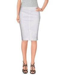 Alviero Martini 1A Classe Skirts Knee Length Skirts Women White