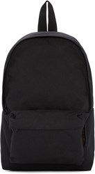 Comme Des Garcons Black Canvas Backpack